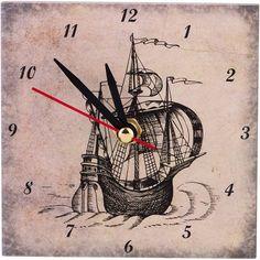"""Часы настольные Lefard """"Клипер"""", 354-1324, 10 х 10 см"""