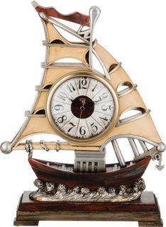 Настольные часы Lefard Парусник, кварцевые, 204-154, 41 х 32 х 11,5 см