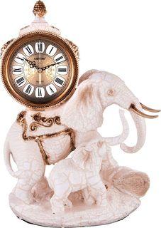 Настольные часы Lefard Слониха со слоненком, кварцевые, 204-180, 44 х 33 х 20 см