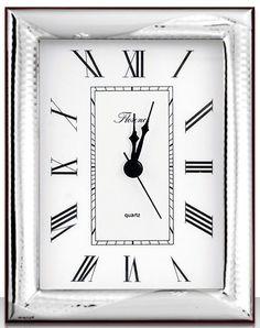 Настольные часы Beltrami 1110/3GL, серебристый