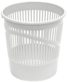 "Корзина для бумаг ""Erich Krause"", сетчатая, цвет: светло-серый, 12 литров. 3779"