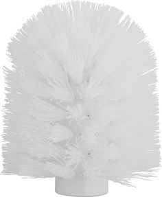 """Щетка для ершика """"Axentia"""", сменная, цвет: белый, диаметр 8 см"""