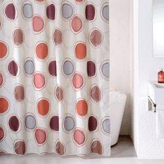 """Штора для ванной Milardo """"Sea Stones"""", цвет: мультиколор, 180 x 200 см"""