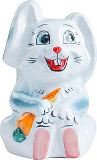 """Подставка под ёрш Хорошие сувениры """"Заяц"""", с подставкой, 1802454, бежевый, оранжевый"""