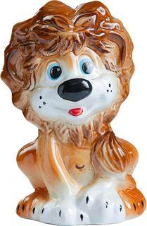 """Подставка под ёрш Хорошие сувениры """"Львенок"""", с подставкой, 1802453, коричневый, оранжевый"""