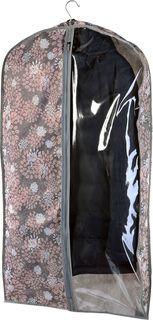 """Чехол для одежды Cofret """"Серебро"""", объемный 130 x 60 x 10 см"""