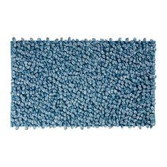Коврик для ванной Aquanova Rocca, цвет: голубой, 70x120 см. ROCBML-369