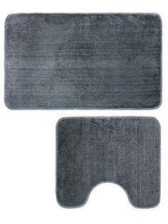 Набор ковриков для ванной mr. Penguin RG005/2, серый