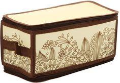 "Короб для хранения Handy Home ""Цветы"", складной, 30 х 15 х 15 см"