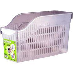 Коробка для хранения Полимербыт Контейнер хозяйственный на колесах, 6 л., прозрачный, 35,5х13х20см., прозрачный