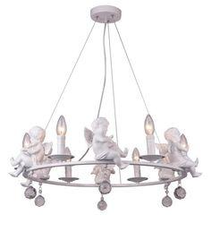 Подвесной светильник Arte Lamp A4288LM-6WH, белый
