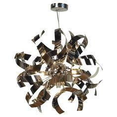 Подвесной светильник Lussole LSA-5903-07, серый металлик
