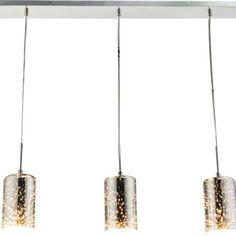Подвесной светильник Globo New 15849-3, серый металлик