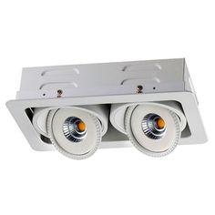 Встраиваемый светильник Novotech 357581, белый