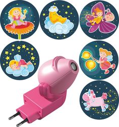 Haba Ночник-проектор Волшебный фонарь с вкладышами Феи