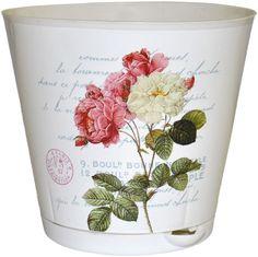 """Горшок для цветов InGreen """"Крит. Прованс"""", с системой прикорневого полива, диаметр 25,4 см"""