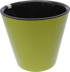 """Горшок для цветов """"Фиджи"""", на колесиках, цвет: салатовый, 16 л In Green"""