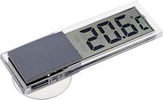 Термометр садовый, электронный, цвет: прозрачный, 2 х 2,9 х 9 см
