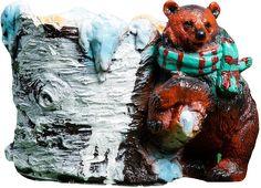 """Кашпо Хорошие сувениры """"Медведь с шарфом"""", 3889471"""