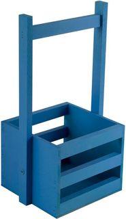 Кашпо Дубравия Ящик малый, синий