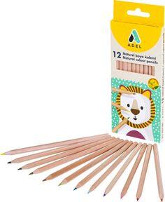 Набор цветных карандашей Adel, 12 шт. 2112335001 Адель