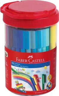 Faber-Castell Набор фломастеров Connector 50 цветов