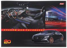 Hatber Альбом для рисования Mercedes-Benz 20 листов