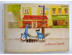 Kroyter Альбом для рисования Город 30 листов