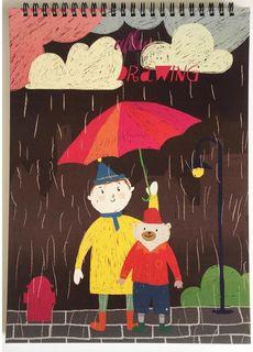 Kroyter Альбом для рисования Друзья А4 40 листов