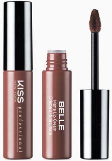 Kiss New York Professional Матовая жидкая помада-крем Belle, Angelic, 6 мл