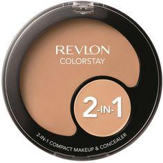 Revlon Тональная основа + консилер 2 в 1 colorstay, тон №220, 11 г