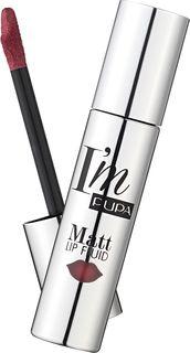 Жидкая помада для губ Pupa Im Matt Lip Fluid, оттенок №96, 4 мл