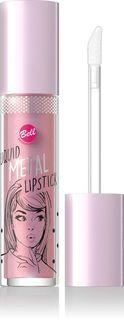 Помада жидкая с эффектом металлик Bell Liquid Metal Lipstick, тон №01