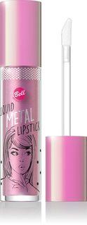 Помада жидкая с эффектом металлик Bell Liquid Metal Lipstick, тон №02