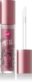 Помада жидкая с эффектом металлик Bell Liquid Metal Lipstick, тон №03