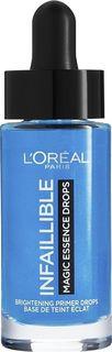 Эссенция-праймер Loreal Paris Infaillible, увлажняющая, увеличивающая стойкость макияжа, 15 мл