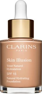 Тональный крем Clarins Skin Illusion, увлажняющий, с легким покрытием, SPF 15, тон № 109, 30 мл