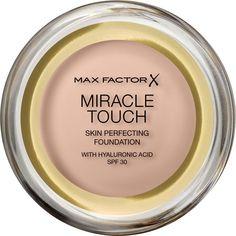 Тональная основа Max Factor Miracle Touch, SPF 30, тон 38 Light Ivory, 11 мл
