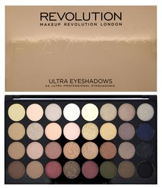 Makeup Revolution Набор из 32 теней 32 Eyeshadow Palette, Flawless, 16 гр