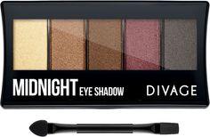 Divage Палетка теней для век Palettes Eye Shadow - Midnight