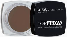 Kiss New York Professional Помада для бровей Top brow, Dark Brown, 3 г