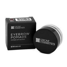 Помада для бровей Lucas Cosmetics Brow pomade, цвет: dark brown - темно-коричневый, 4 г