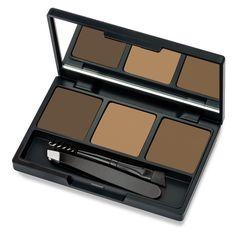 Набор для макияжа бровей Golden Rose Eyebrow Styling Kit, тон 01