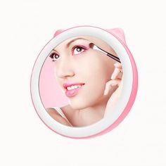 Зеркало косметическое MyBliss 0087, розовый