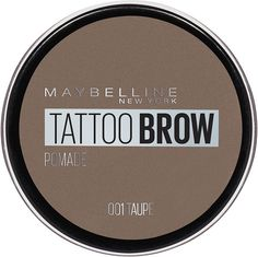 Помада для бровей Maybelline New York Brow Pomade, оттенок 01, Серо-коричневый, 3,5 г