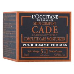 """LOccitane Крем для лица """"Cade"""", для мужчин, для нормальной и сухой кожи, 50 мл L'Occitane En Provence"""