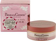 "BeauuGreen Гидрогелевые патчи для кожи вокруг глаз ""Pomegranate & Ruby Hydrogel Eye Patch"", 90 г"