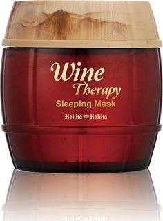 "Holika Holika Ночная винная маска-желе ""Вайн Терапи"", красное вино, 120 мл"