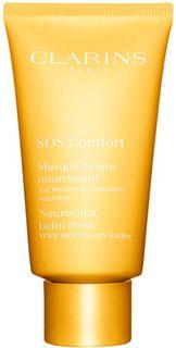 Clarins Питательная маска с маслом манго SOS Comfort, 75 мл