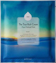 """Маска кремово-гидрогелевая The True Rich Cream """"Увлажнение"""", с комплексом AMF, 25 г"""